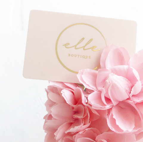 Elle Boutique Online Gift Card