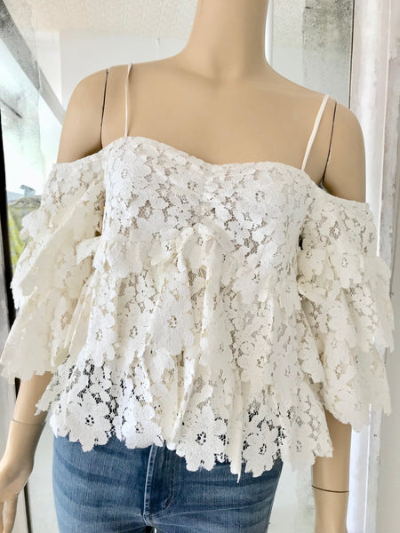 BRANDY LACE TOP