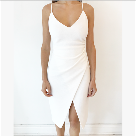 BOWERY SHEATH DRESS