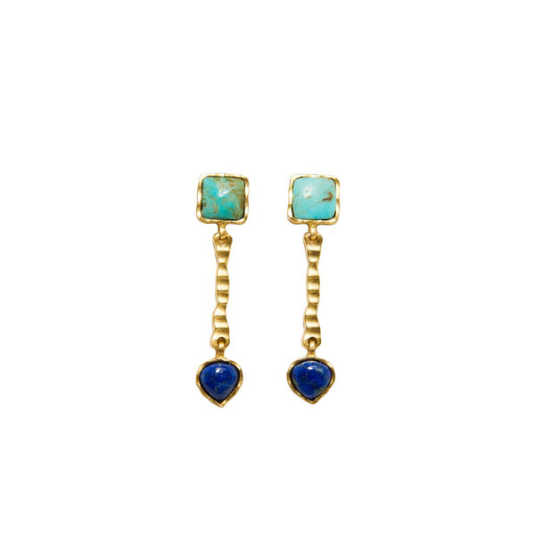 DECO RUSSES DROP EARRING