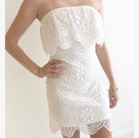 LACE OF YOU DRESS