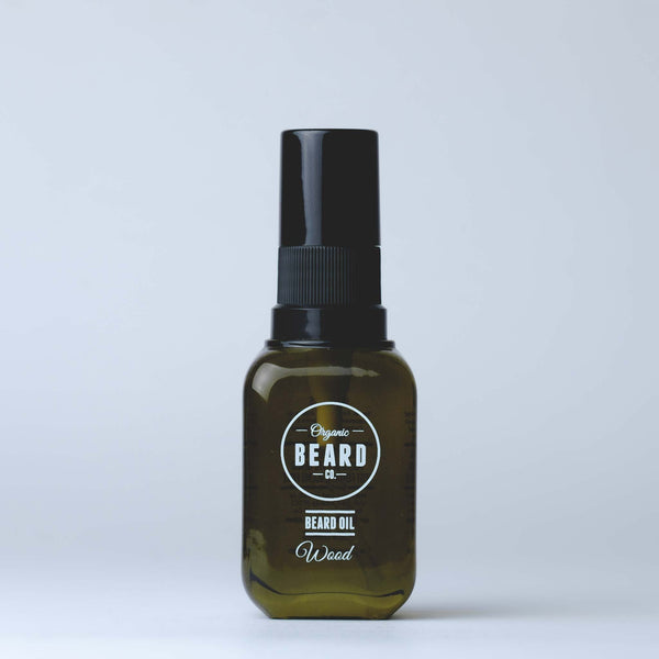 Organic Beard Oil - Wood - BOXknocks Dubai Grooming Organic Beard Co.