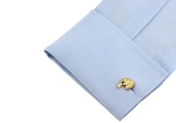 The Eagle Cufflinks - Gold - BOXknocks Dubai Cufflinks BOXknocks
