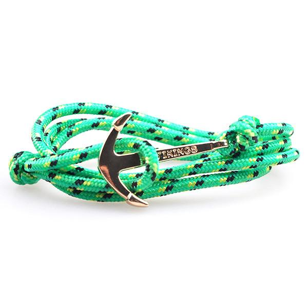 The Sailor Green and Black/Yellow Rope Bracelet - BOX knocks  - 1