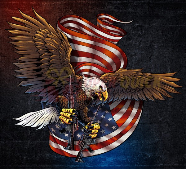 American Pride Veteran Eagle Decal with FREE SHIPPING!