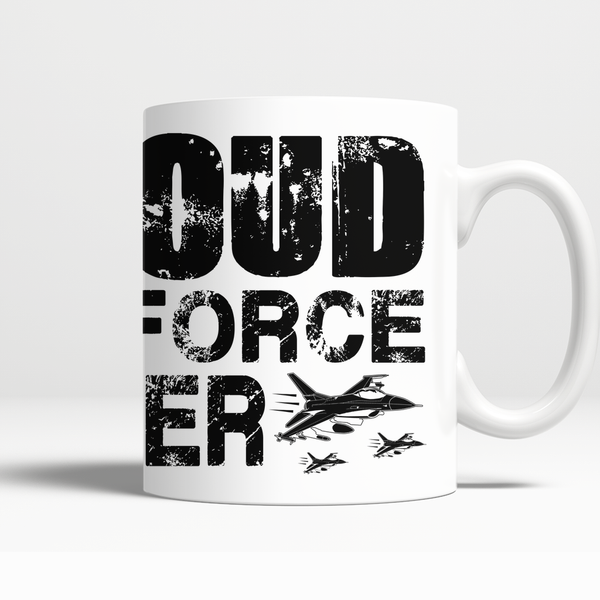 Proud Air Force Sister Mug