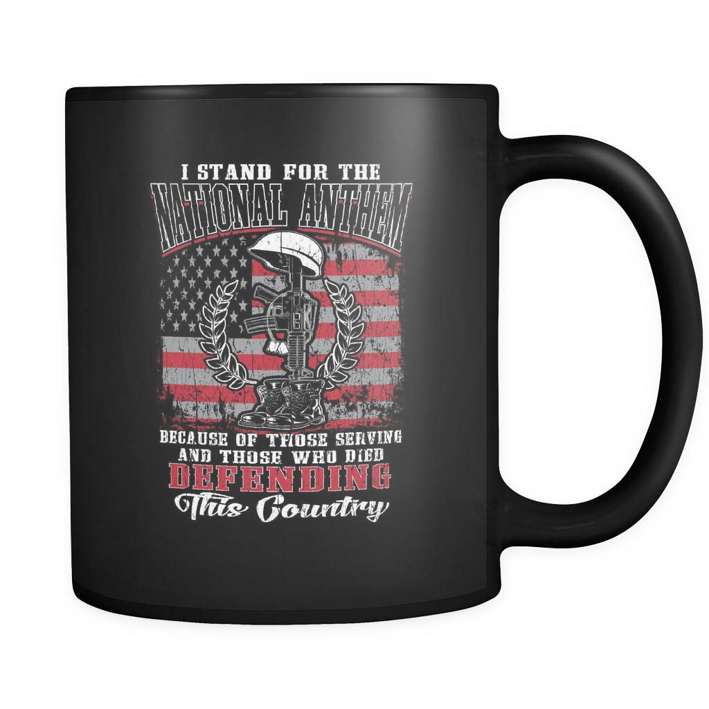 I Stand For The National Anthem V2  Coffee Mug