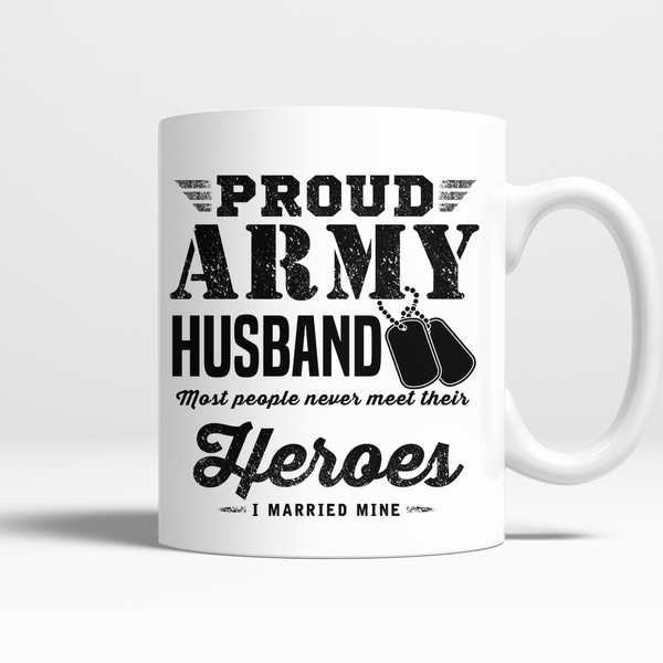 Proud Army Husband Mug