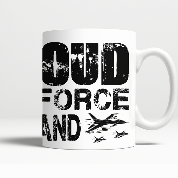 Proud Air Force Husband Mug