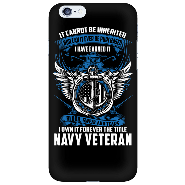 Navy Veteran - Phone Case