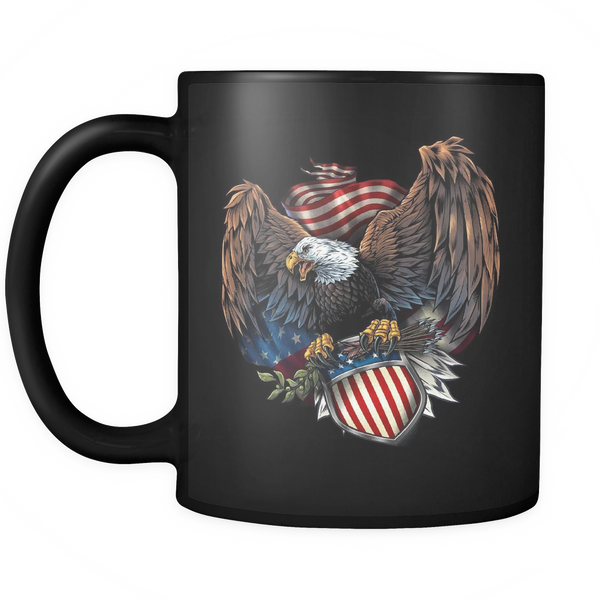 Army Eagle Mug (Black)