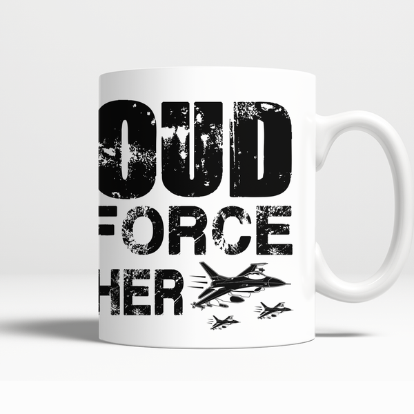 Proud Air Force Brother Mug