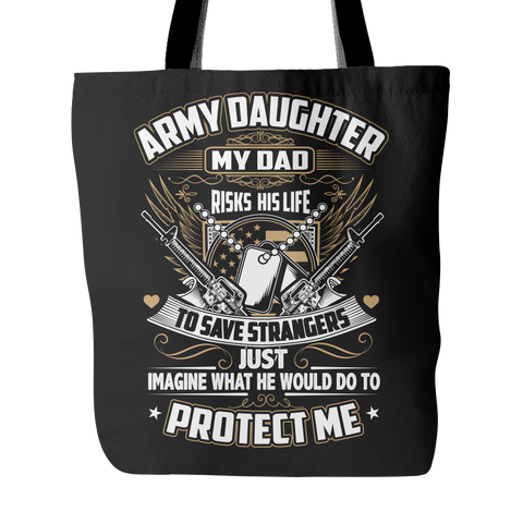 Army Daughter Tote Bag