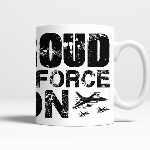 Proud Air Force Son Mug