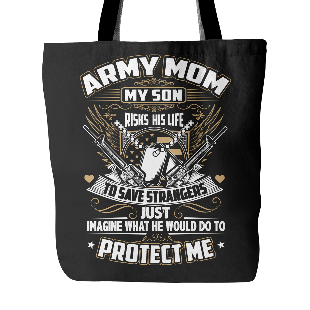 Army Mom Tote Bag