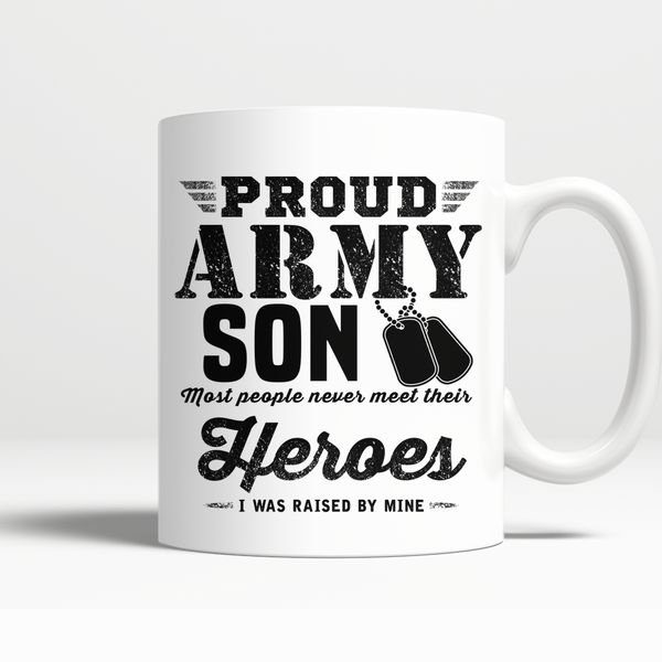 Proud Army Son Mug