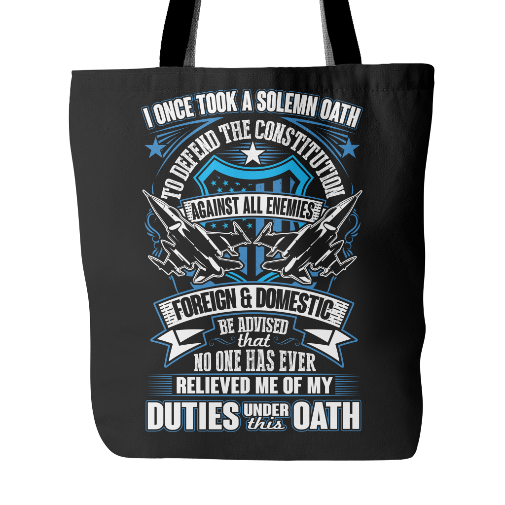 Air Force Veteran Tote Bag (2nd Version)