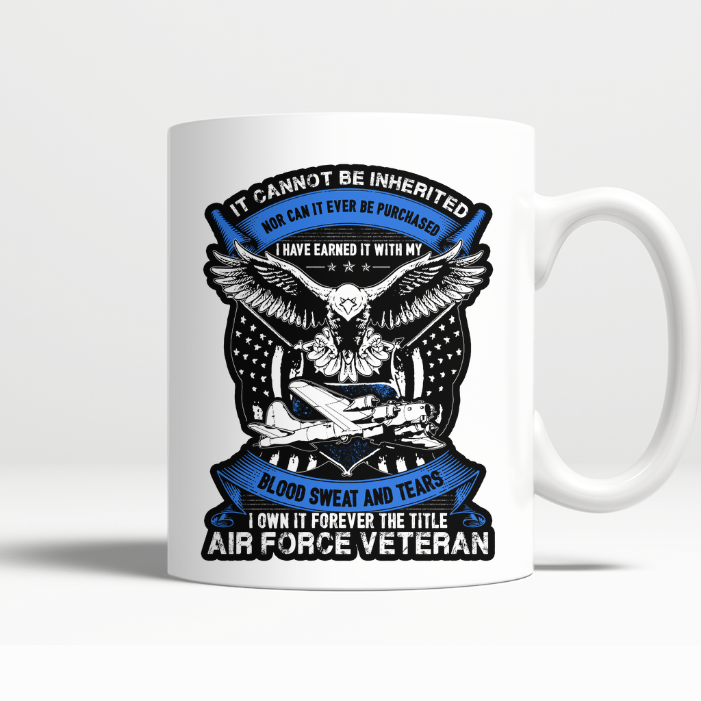 Air Force Veteran Mug