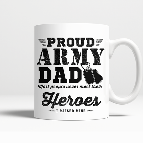 Proud Army Dad Mug