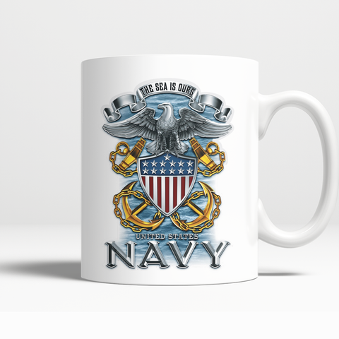 Proud Navy Mug II