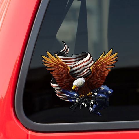 "Army Eagle Decal 5"" inch with FREE SHIPPING!"