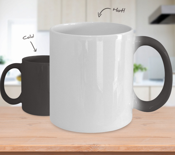 Army Mom Color Changing Mug
