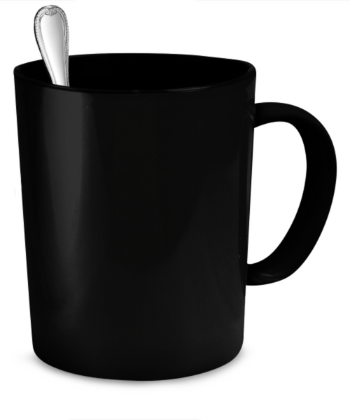 Proud Navy Grandma Mug (Black)