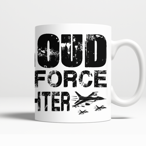 Proud Air Force Daughter Mug