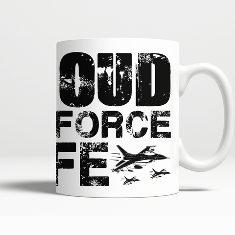 Proud Air Force Wife Mug