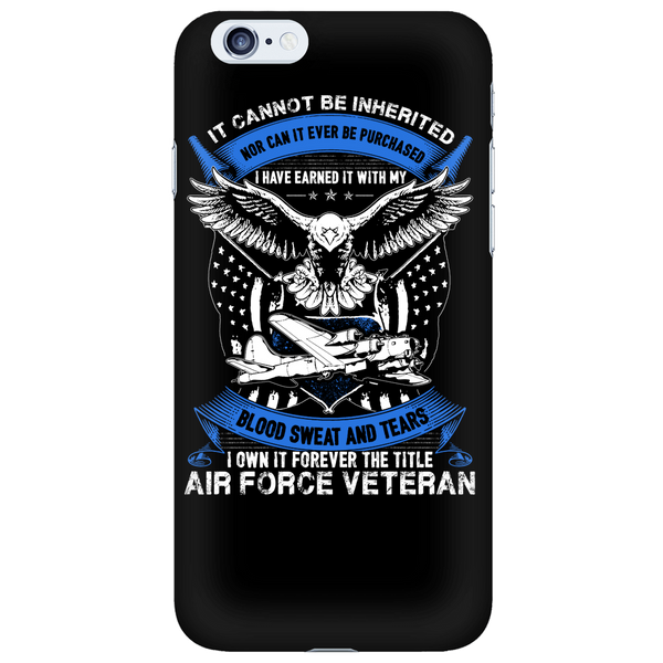 Air Force Veteran - Phone Case