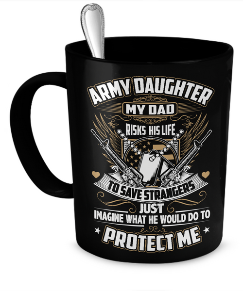 Army Daughter Mug