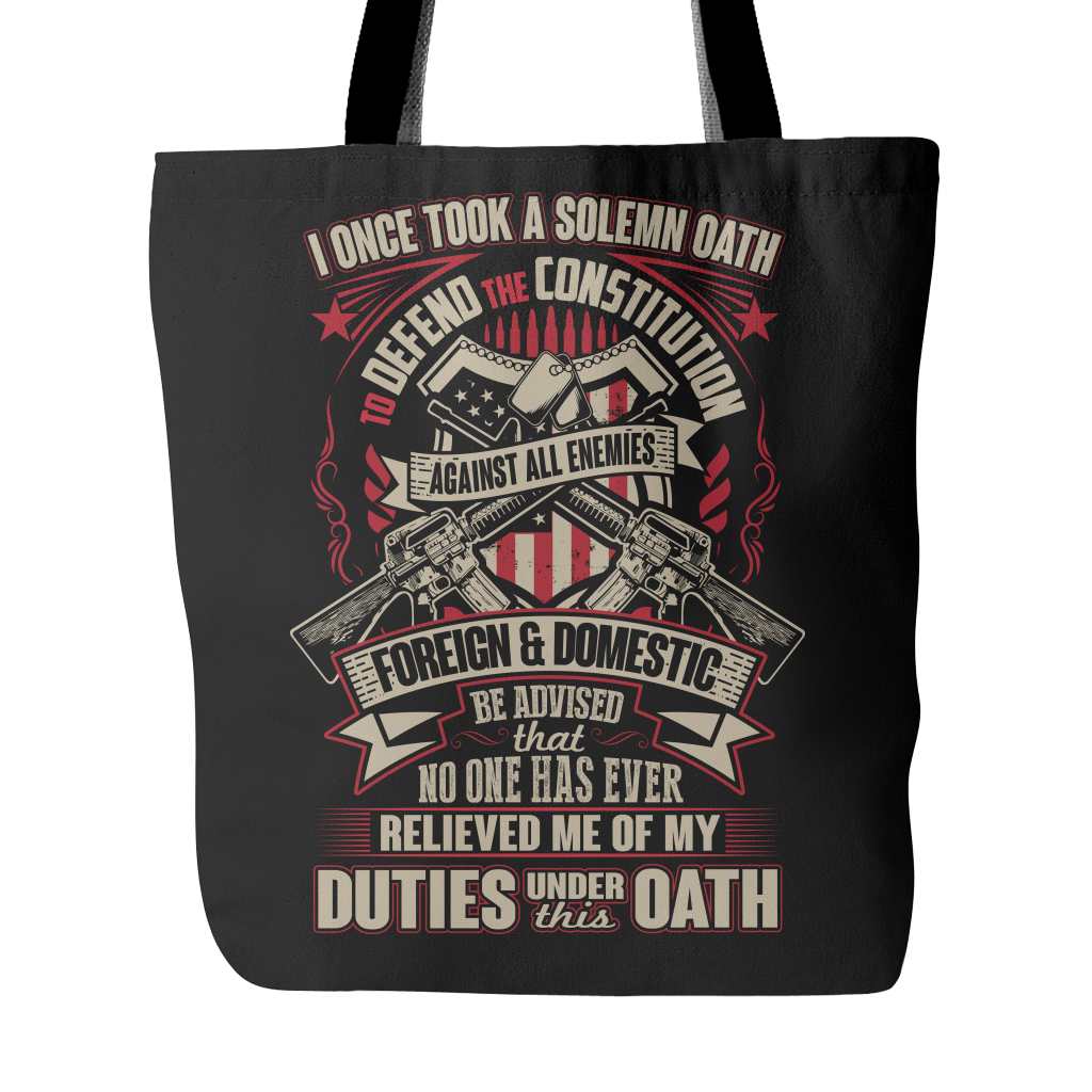 Proud Veteran Tote Bag