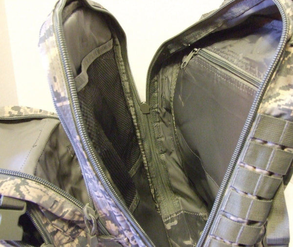 Military US Air Force ABU 3Day Molle Tactical Assault Backpack SWAT Navy Med New