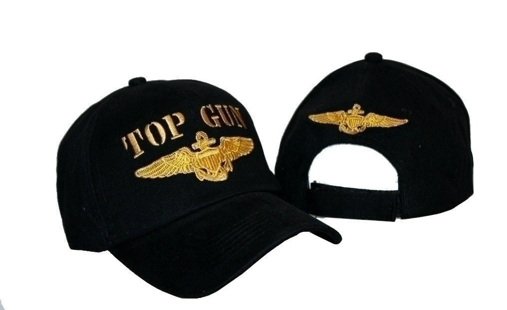 Embroidered Military US Navy Tom Cruise Top Gun Baseball Ball Hat Cap