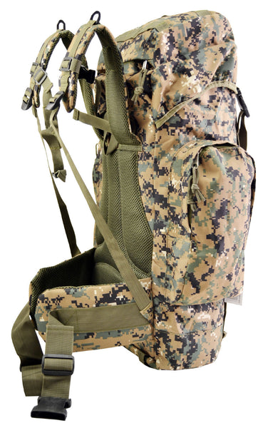 US Marine Corps 56L Rio Grande Hiking Mountaineering Military Backpack/Camping