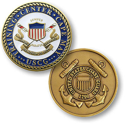 U.S. Coast Guard Training Center / Cape May - USCG Challenge Coin