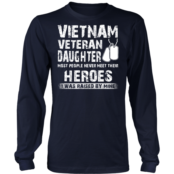Proud Vietnam Veteran Daughter T-shirt