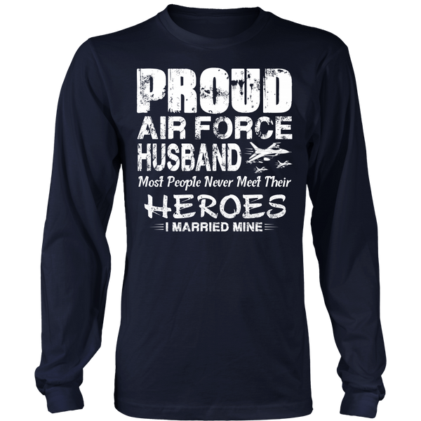 Proud Air Force Husband T-shirt