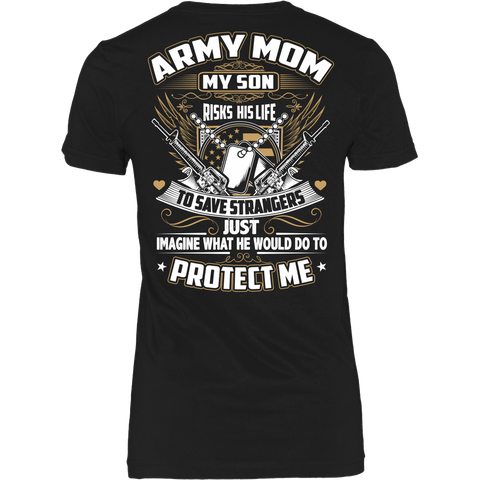 Army Mom T-shirt (2nd Version)