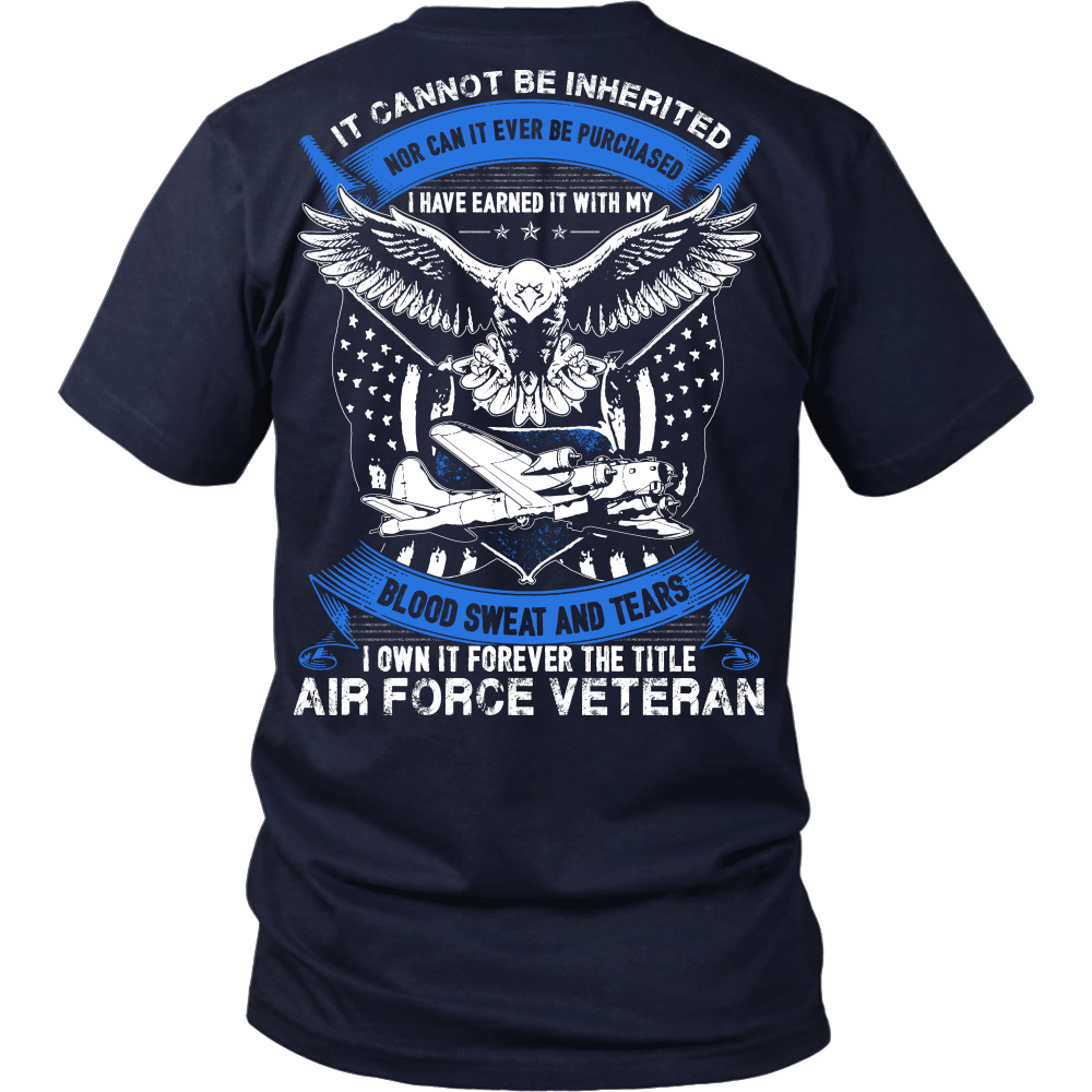 Air Force Veteran T-shirt