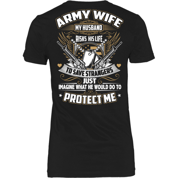 Army Wife T-shirt (2nd Version)