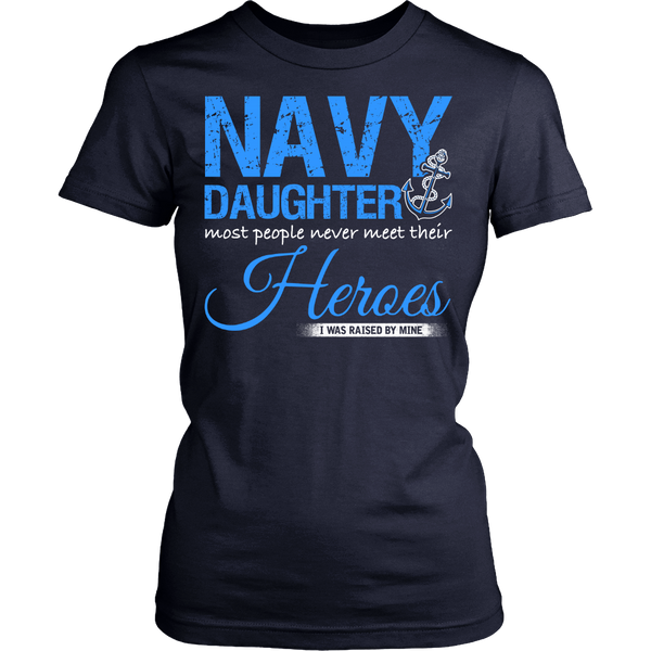 Navy Daughter T-shirt