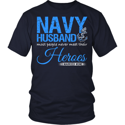 Navy Husband T-shirt
