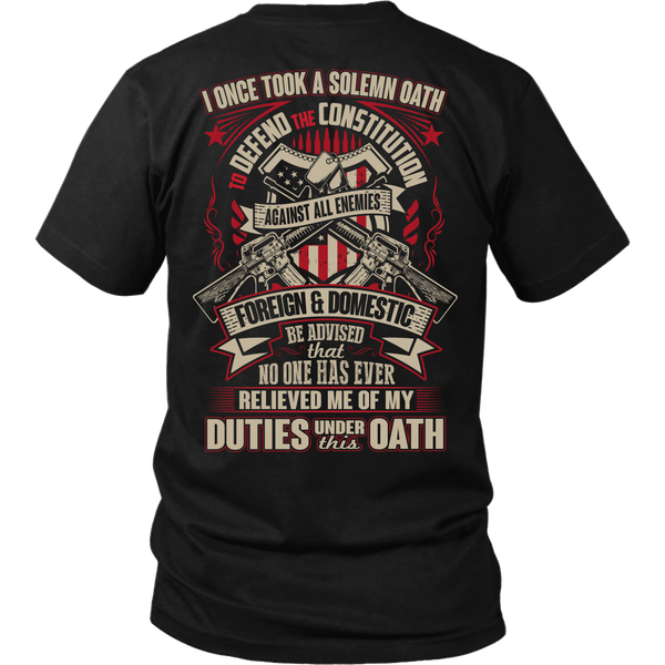 Proud Veteran T-shirt
