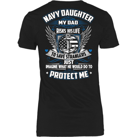 Navy Daughter T-shirt (2nd Version)