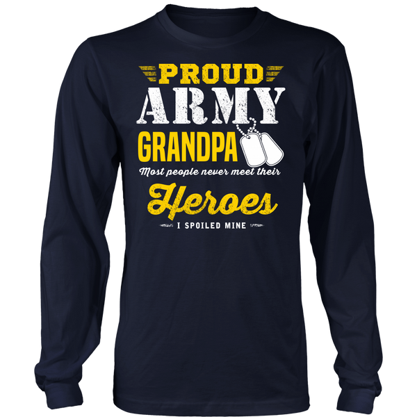 Army Grandpa T-shirt