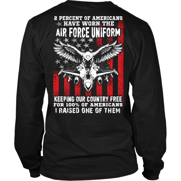 2 Percent of Air Force T-shirt
