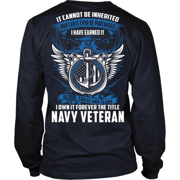 Navy Veteran T-shirt III