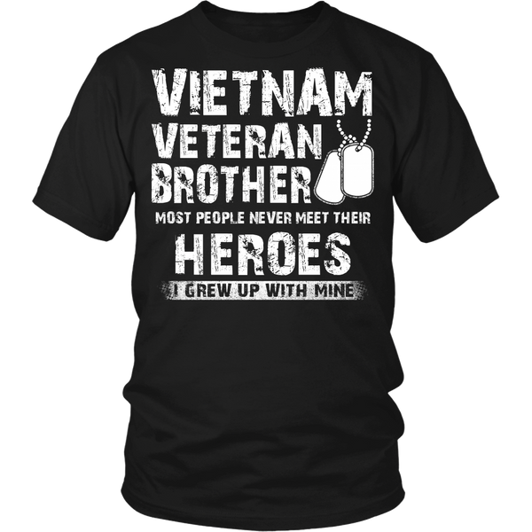 Proud Vietnam Veteran Brother T-shirt