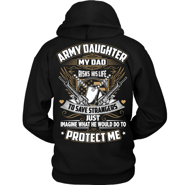 Army Daughter T-shirt (2nd Version)